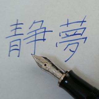 詞を書くために万年筆を買った話