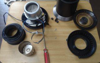 コーヒーの焙煎機を修理してみる